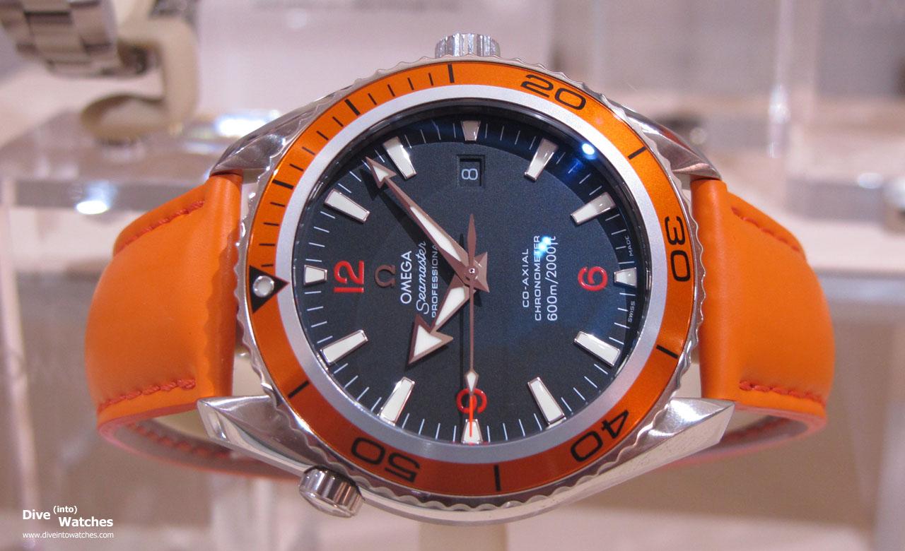 Omega seamaster po dive into watches for Plante orange