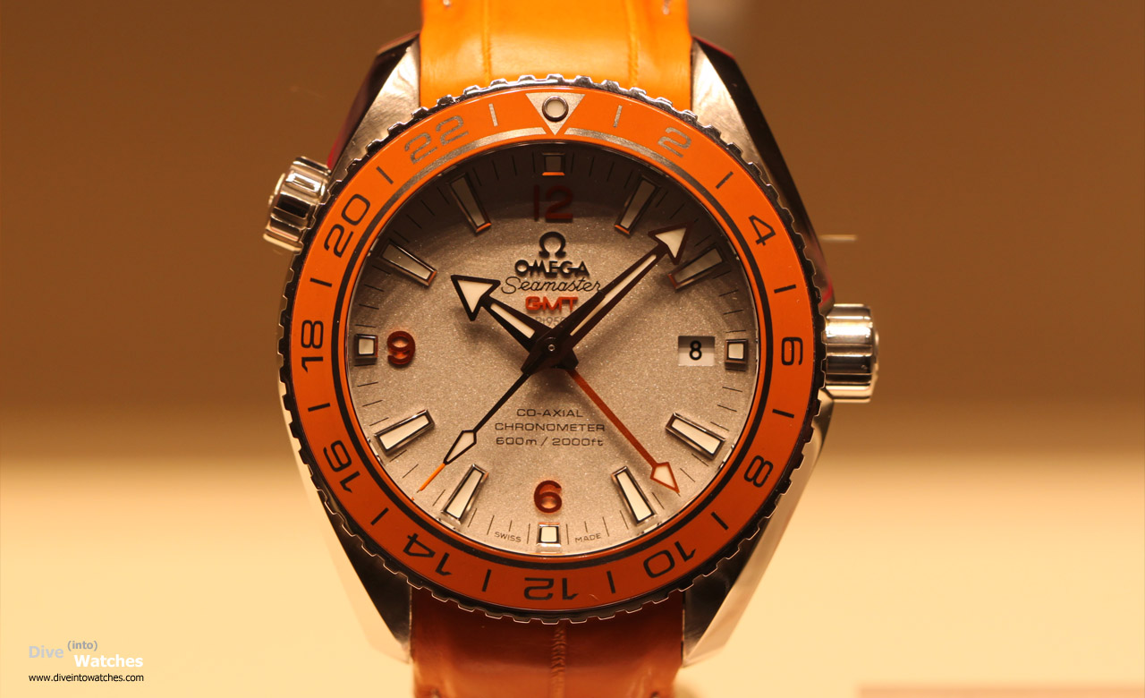 Omega planet ocean mit vitamin c dive into watches for Plante orange
