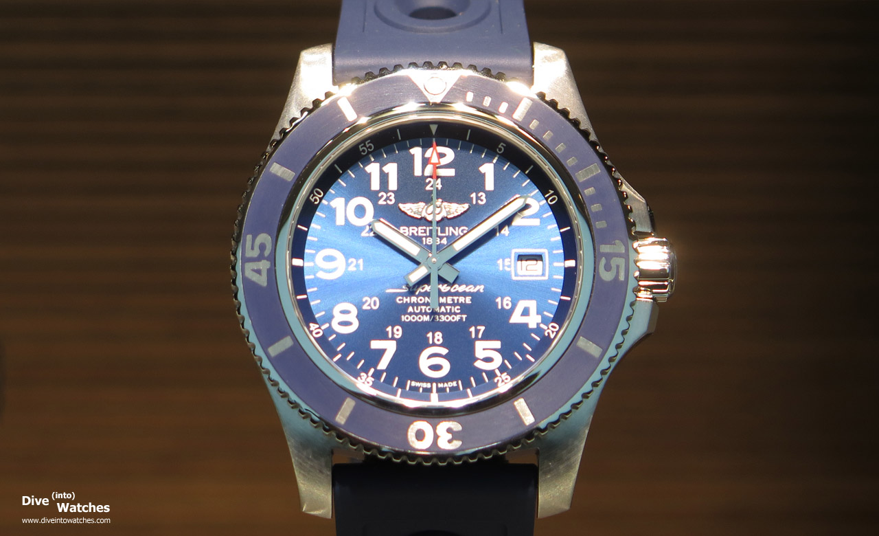 Breitling_SuperOcean_44_Blue_Front_Baselworld_2015