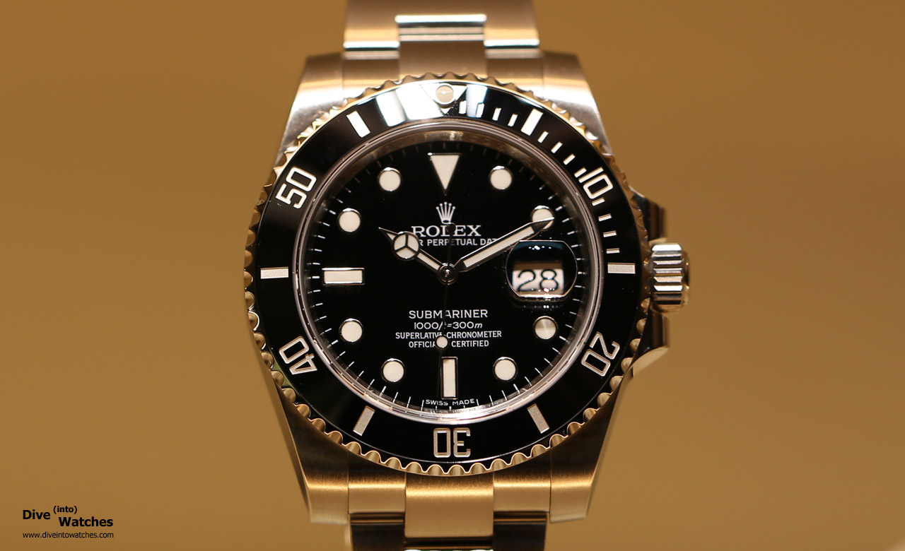 Rolex_Submariner_SS_Black_Front_Baselworld_2015