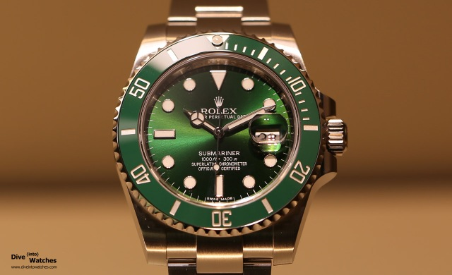 Rolex_Submariner_SS_Green_Front_Baselworld_2015