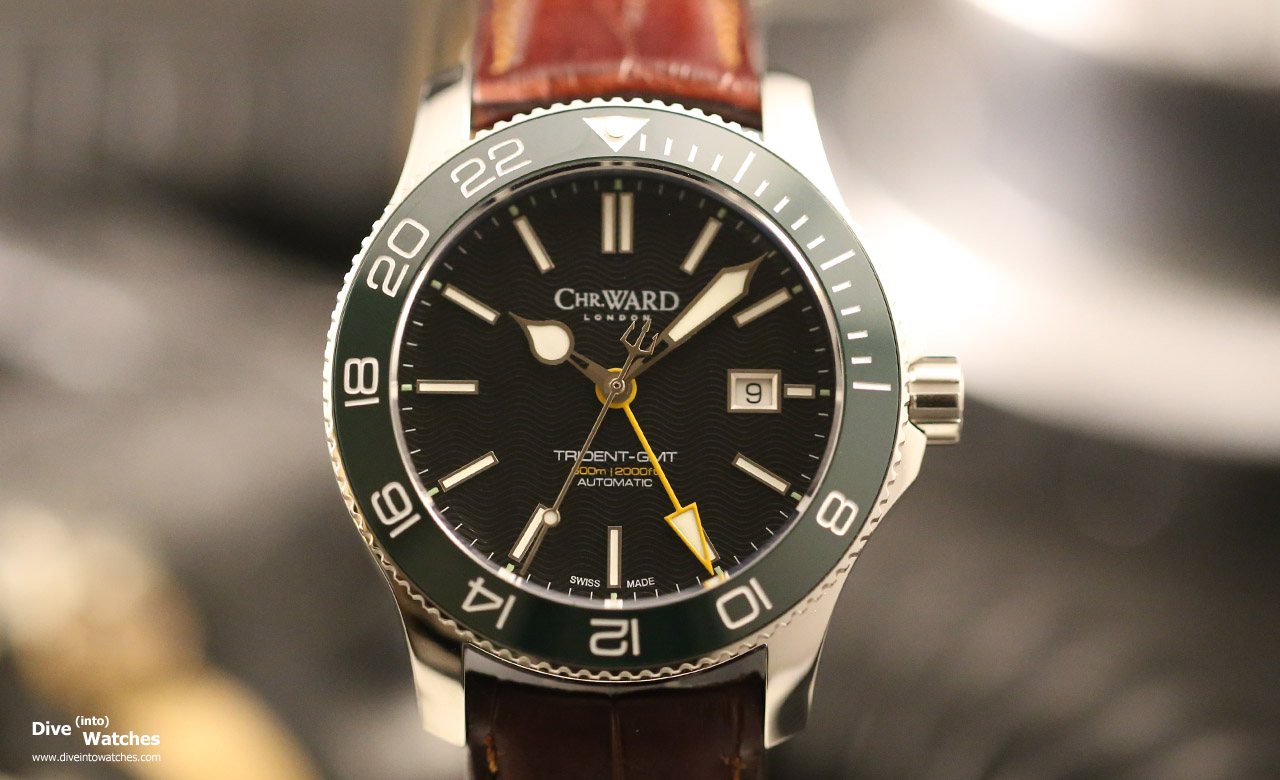 Christopher_Ward_London_C60_Tridente_GMT_42_Green_Front_2_2015