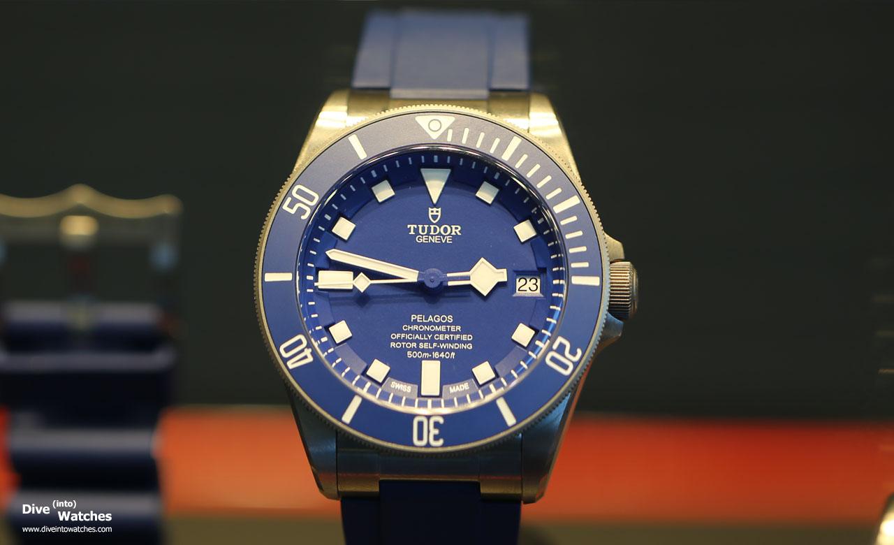 Tudor_Pelagos_Blue_Strap_Front_Boutique_Geneva_2015