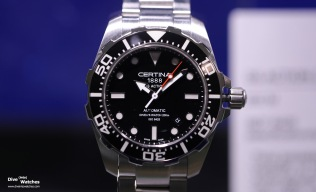 Certina_DS_Action_Diver_Black_Front_Baselworld_2016