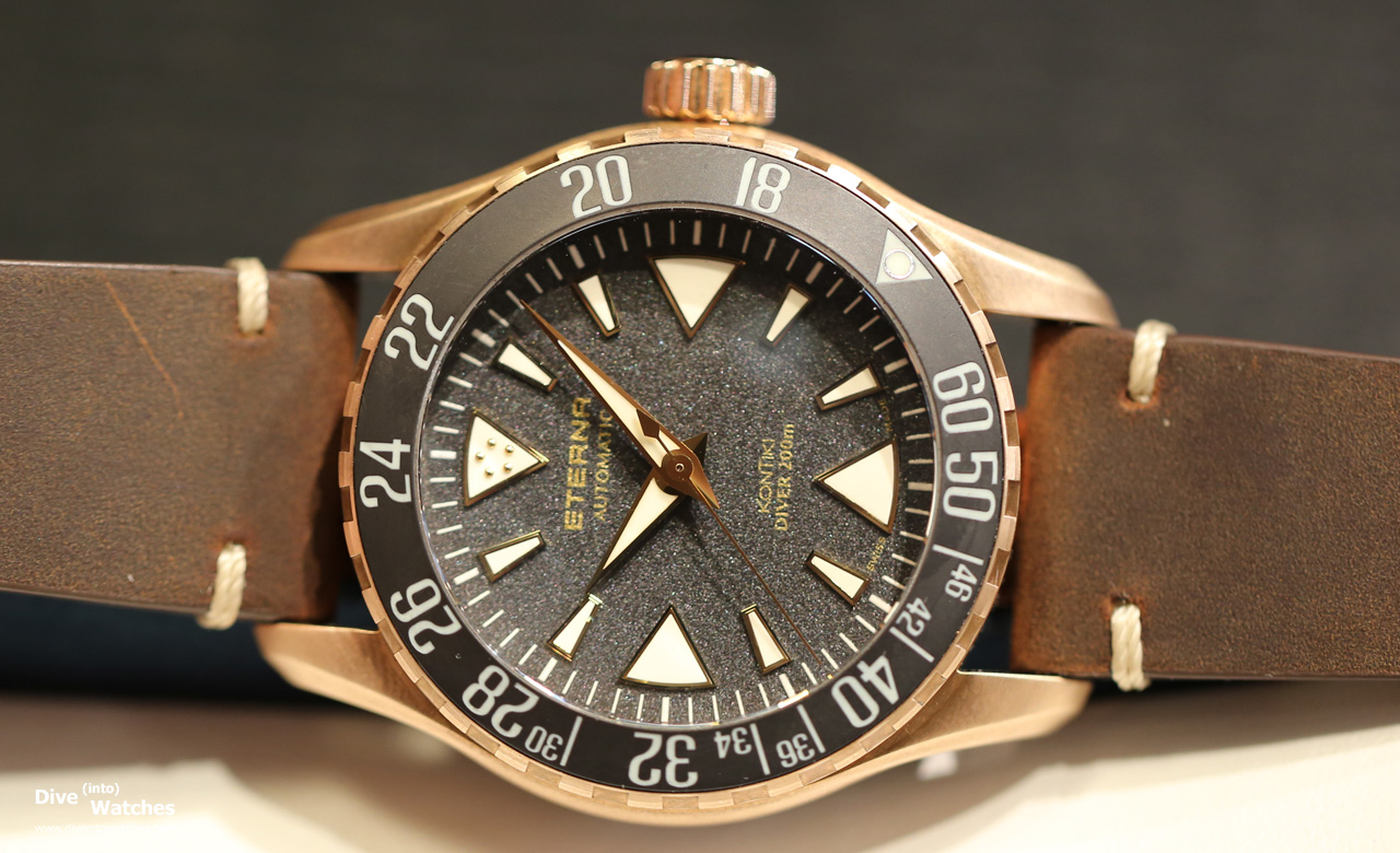 Baselworld 2017: Eterna KonTiki Diver 200   Dive into Watches