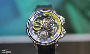 Angelus_Tourbillon_Diver_Blue_Front_Baselworld_2018
