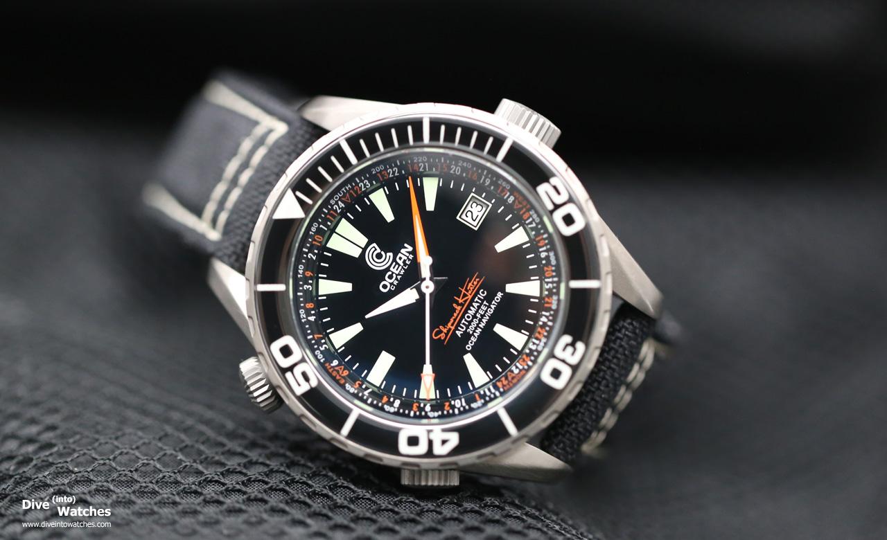 Ocean crawler ocean navigator dive into watches - Oceanic dive watch ...